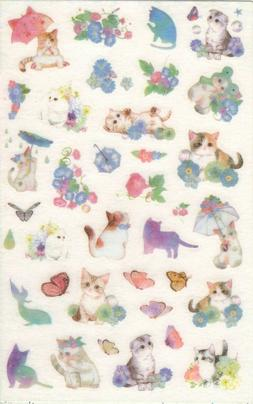 1 Sheet Adorable Cat Stickers