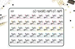 1130~~Bible Study Church Planner Stickers.
