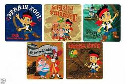 15 Jake & The Neverland Pirates Stickers Kids Party Goody Lo