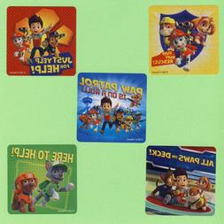 15 Paw Patrol Dogs Large Stickers - Ryder, Rubble, Skye, Roc