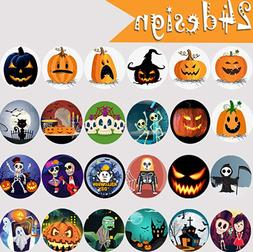 30 Stickers for Halloween Party Decorations, Trick or Treat