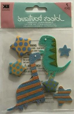 3316 JOLEE'S 3D Stickers - BABY TOYS, TODDLER, DINOSAURS, ST