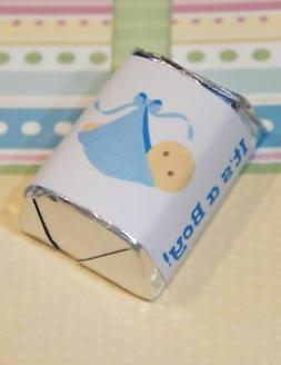 60 Baby Shower It's a Boy Blue Blanket Hershey Candy Nugget