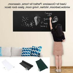 Blackboard Wall Stickers Removable Paper Decal for Bedroom C