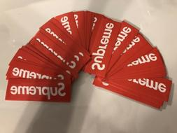 Brand New-Supreme Stickers Red Box Logo Pack Of 10 🔥 9x3c