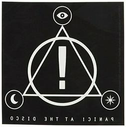 C&D Visionary Panic at The Disco Triangle Logo Sticker