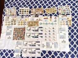 Christmas Stickers Lot Of 20 Present Gift To From Santa Card