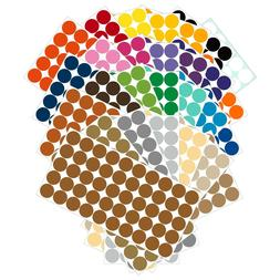 Color Coding Dot Labels 3/4 inch  Stickers 50 pack Permanent
