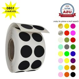 Color Coding Labels Round 13mm Stickers in Rolls for Decorat