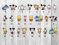 Disney Cutie Planner Stickers- Perfect For Any Planner- Erin