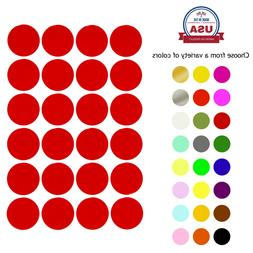 Dot Stickers Round Color Coding Labels 25mm 1 Inch Permanent