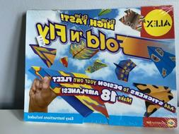 Alex Toys Fold 'N Fly Paper Airplane Kit 18 Ct Handcrafted D