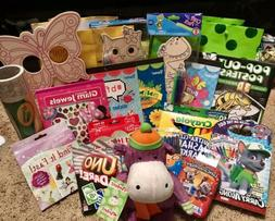 Girls Toys Games Stickers Books Activities Lot All New