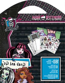 Grab & Go Stickers - Monster High - New Decals Toys Games st