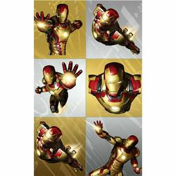 Iron Man 3 Party Supplies-Party favors-Stickers 4 sheets