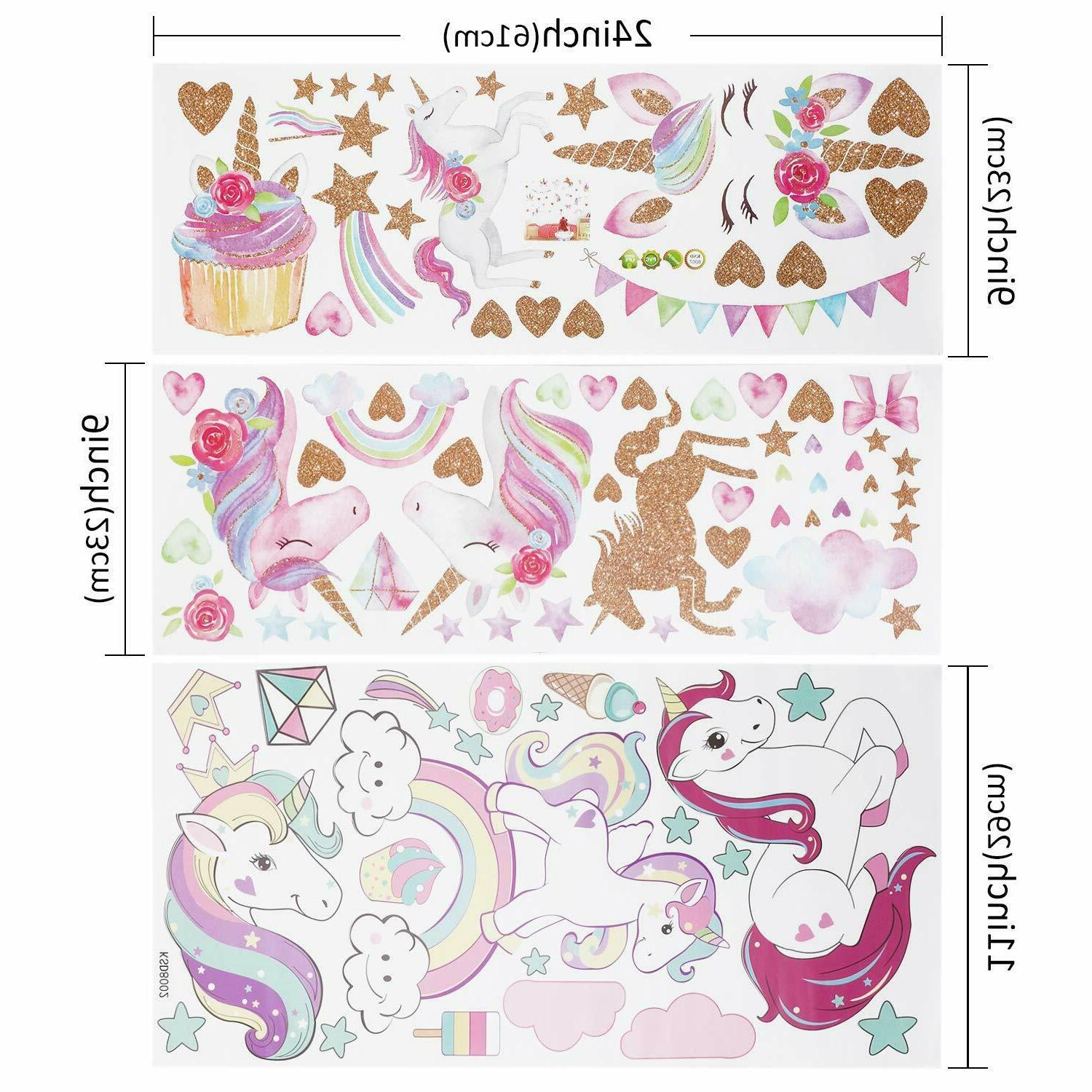 3Sheets Wall Stickers for Kids Room