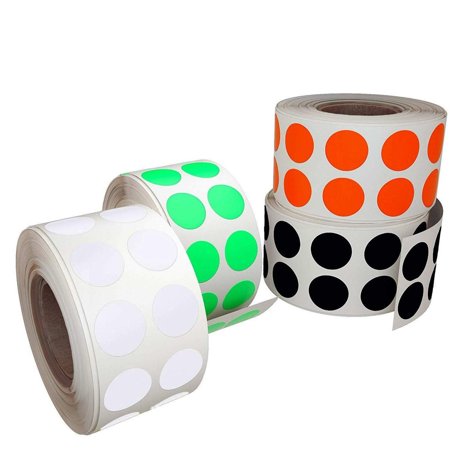 Color Coding Labels 13mm Stickers for Inch