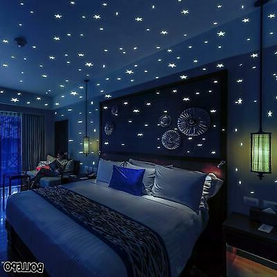 glow in the dark stars and dots