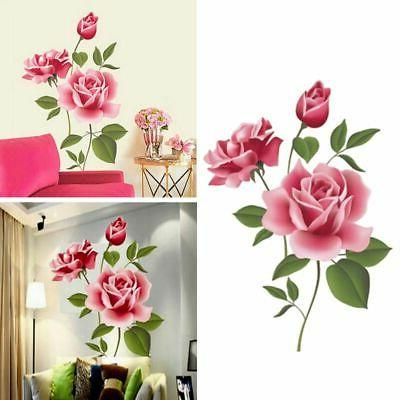 For Bathroom Living Room USWall Stickers Home Decor Wall Art