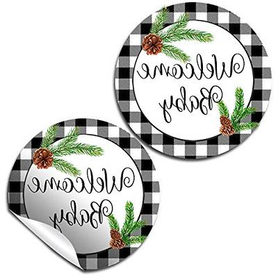 winter pinecone evergreen themed baby sprinkle baby