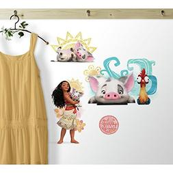 MOANA AND FRIENDS WALL STICKERS Pua Pig Hei Hei Rooster Deca