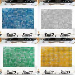 Mosaic Stick On Self Adhesive Wall Tile Stickers Anti Oil Fo