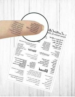 Planner Stickers  21 Quote Stickers Clear Mini Stickers Tran