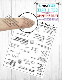 Planner Stickers  Over 25 FUNNY Quote & Word Stickers Clear