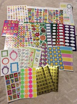 Planner Teacher Memory Student Mom STICKER LOT NEW 31 pages