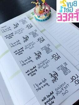 PP455 -- Sassy Quote Icons Life Planner Stickers for Erin Co