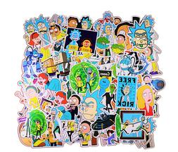 Rick And Morty 100 Pcs Stickers for car Cartoon Vinyl Decal