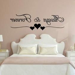 Romantic Love always forever INS Wall Stickers For house Bed