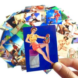 Sexy Stickers 100Pcs For Women Adults Bedrooms Anime Beauty