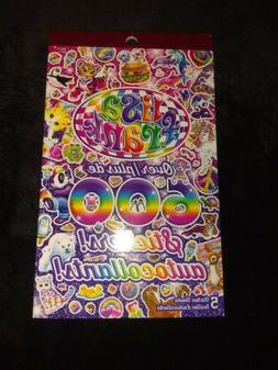 Lisa Frank Sticker Books. Over 600 Stickers On Five Colorful