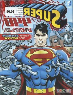 Superman 448 Page Coloring Book Activity Stickers Poster for