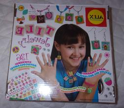 Alex Tile Jewelry Craft Kit Age 7+ Toy Gems Stickers Rings E