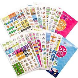 TWO Sets  Busy Mom + Every Gal Planner Stickers any Planner,